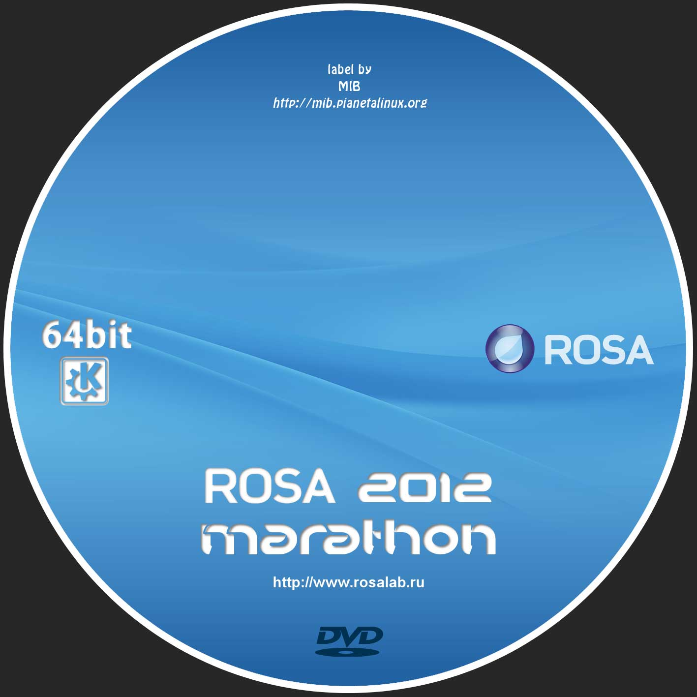 MIB covers & labels for ROSA Marathon 2012